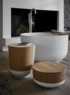 Freestanding round bathtub - Inbani