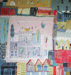 "Saatchi Art Artist Anna Hymas; Painting, ""A Countryside Landscape"" #art"