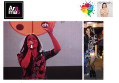La cantante Ainhoa Cantalapiedra guapísima con un vestido de #AramatDavila en el #orgullo2015 #orgullomadrid #pontechueca #madridpride