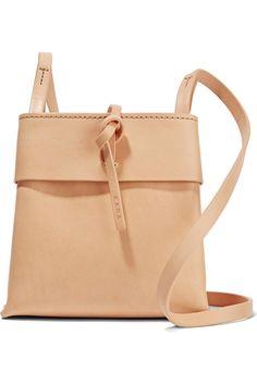 Kara | Nano Tie leather shoulder bag | NET-A-PORTER.COM