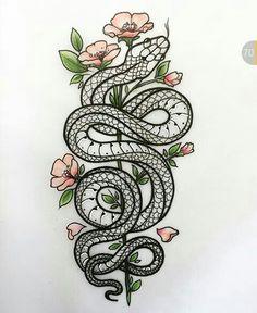 Pencil Art Drawings, Tattoo Drawings, Body Art Tattoos, Art Sketches, Tatoos, Skate Tattoo, Snake Painting, Diy Dress, Medusa