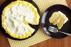 Lemon Meringue Sunshine Cake