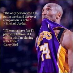 Agree Kobe is the best.. Im sure everybody would agree.. #lakers #forever #kobe
