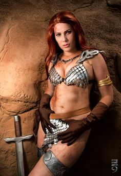 **Red Sonja**, the *She-Devil with a Sword*