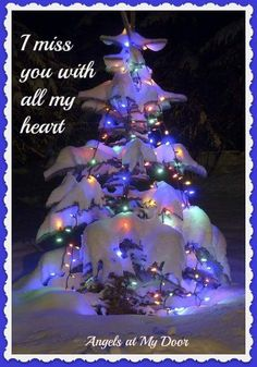 I miss you mom Miss Mom, Miss You Dad, Mom And Dad, Christmas In Heaven, Christmas Trees, Xmas, Christmas Lights, Christmas Mom, Christmas Decorations