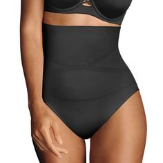 a40256acae Maidenform Shapewear Slim-Waisters High-Waist Brief 12553 - Women s