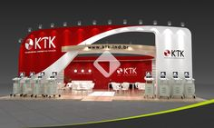 Booth KTK by Upstand Design