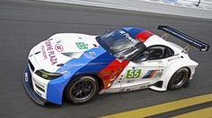 BMW has introduced a new race car, the GTE, for the 2013 American Le Mans Series. Bmw Z4, Bmw Alpina, Bmw M Series, Le Mans Series, Gt Cars, Race Cars, Bmw Sport, Bmw Autos, New Bmw