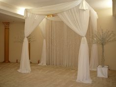 White Canopy for Wedding by SBD EVENTS   Flickr - Photo Sharing!
