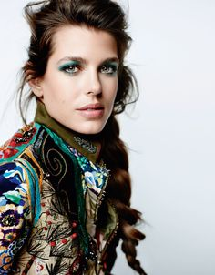 Charlotte Casiraghi by Mario Testino - VOGUE Paris
