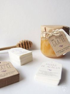 idee bomboniere matrimonio: vasetto di miele
