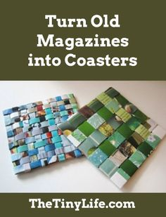 Finally, something to do with all those old magazines!