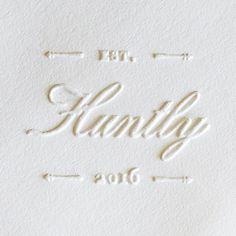 custom embossers for invitations, napkins, ... Inspirations | Bride & Groom