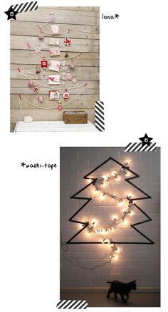 Christmas trees  // árboles de navidad diferentes