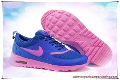 scarpe da ginnastica Donna Deep Sapphire Blu / Rosa 599409-405 Nike Air Max Thea Print