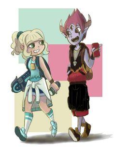 ¿Qué es el Tomkie?  El Tomkie es un ship que contiene personajes de la serie Star vs. Las Fuer