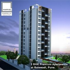 Marvel Castella - 3 BHK premium apartments by Marvel Realtors at Balewadi, Pune. To know more Visit: http://www.puneproperties.com/marvel-castella-premium-apartments-balewadi.html #PuneProperties #FlatsinPune #ApartmentsinPune #FlatsinBalewadi #ApartmentsinBalewadi