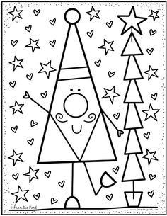 Coloring Club Library — From the Pond Christmas Arts And Crafts, Preschool Christmas, Christmas Colors, Christmas Themes, Kids Christmas, Colouring Pages, Coloring Sheets, Coloring Books, Christmas Activities