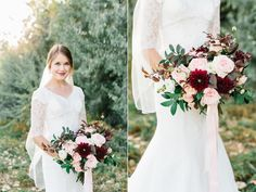 romantic ethereal blush garden rose wedding bouquet flowers utah calie rose www.calierose.com
