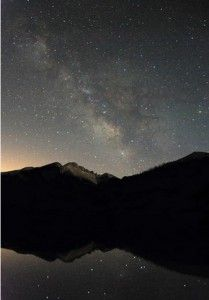 A Nighttime Ascent of Longs Peak