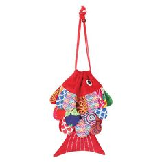 Patchwork Fish Handbag/Tote | 2 Reviews | 5 Stars | What on Earth | CX7256 Tote Handbags, Purses And Handbags, Pisces Fish, Unique Gifts, Great Gifts, Cinch Bag, Purse Styles, Red Fish, Inspirational Gifts
