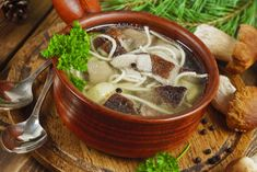 Fragrant mushroom noodle soup Ingredients: 250 g of porcini mushrooms 4 things. potato 1 onion 100 g noodles 2 bay leaves peas of allspice salt and Porcini Mushrooms, Stuffed Mushrooms, Toddler Water Table, Netflix Gift Code, Face Hair Removal, Get Gift Cards, Gluten Free Snacks, Easy Food To Make, Noodle Soup