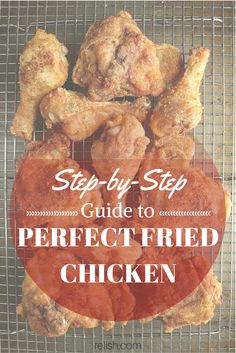 Step-by-Step Guide to Perfectly Crispy Fried Chicken Duck Recipes, Great Recipes, Chicken Recipes, Dinner Recipes, Favorite Recipes, Perfect Fried Chicken, Crispy Fried Chicken, Southern Recipes, Southern Food