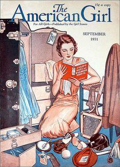 Vintage American Girl magazine cover.jj