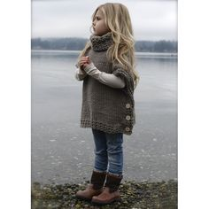 crochet poncho kids Welcome to The Velvet Acorn, here you will find purely original pattern designs in knit and crochet. Inspired and crafted with my love of nature and the outdoors Knitting For Kids, Knitting Projects, Baby Knitting, Crochet Projects, Crochet Ideas, Knitting Sweaters, Knitting Ideas, Knit Or Crochet, Crochet For Kids