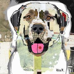 Dog Art of Anatolian Shepherd II on Canvas Print