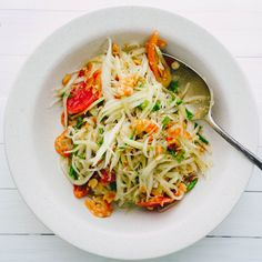 'Som Tum' Thai Papaya Salad