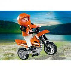 PLAYMOBIL MOTOCROSS BOY