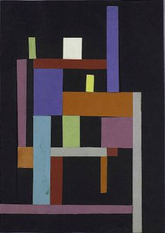 Artist: Ad Reinhardt Completion Date: 1938 Style: Abstract Art Genre: abstract Technique: collage
