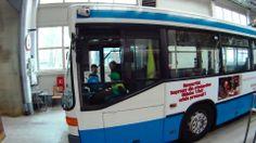 Zwiedzanie zajezdni trolejbusowej w Gdyni