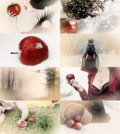 """FAIRY TALE MEME Magical Objects/Creatures → Poisoned Apple """"Snow White"""""""