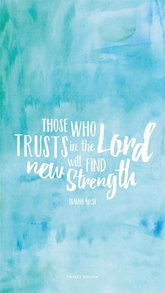 / bible verse / book of isaiah / strength / typography / watercol. -freebiesfriday / bible verse / book of isaiah / strength / typography / watercol. Bible Verses Quotes, Bible Scriptures, Faith Quotes, Jesus Quotes, Bible Book, Faith Bible, Heart Quotes, Quotes Quotes, Bible Psalms