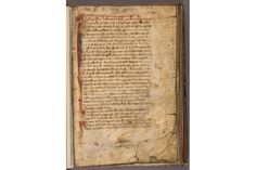 Rare draft of the Magna Carta, Laws & Statutes. England, 13th century. The Huntington Library, Art Collections, and Botanical Gardens.
