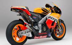 HONDA RC213V 1000cc 2012 Rear Side