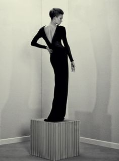 'A Head For Business' Karlie Kloss by Roe Ethridge for ACNE Paper F.w 12.13