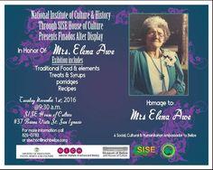 Finados Honoring Mrs. Elena Awe