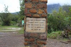 Words of wisdom Helderberg nature reserve, Cape town Somerset West, Nature Reserve, Sober, The Fresh, Cape Town, Have Time, Wisdom, Life, Image
