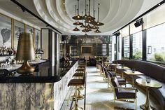 VOGUE Lounge Bangkok Un espacio lleno de sofisticación y lujo en el corazón de la capital de Tailandia.