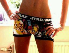 Star wars girls boxers
