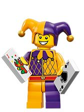 My Collection - Minifigures LEGO.com - Series 12 -....... Jester