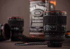 Camera Lens Shot Glasses