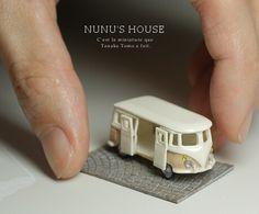 A tiny VW van!