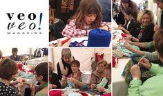Día Mundial de Tejer en Público – 3a quedada vv! #artesanía #costura #bordados #encuentros #quedadas #ganchillo #veoveomagazine #WWKIPD #Barcelona #manosinquietas