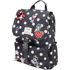 Cath Kidston X Disney Backpacks & Bum Bags (£49) ❤ liked on Polyvore featuring bags, lead, fanny bag, waist bag, comic bag, day pack backpack and logo backpack