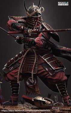 Japanese Tattoos For Men, Japanese Tattoo Art, Japanese Warrior Tattoo, Kabuto Samurai, Japanese Art Samurai, Samurai Warrior Tattoo, Samurai Wallpaper, Character Art, Character Design