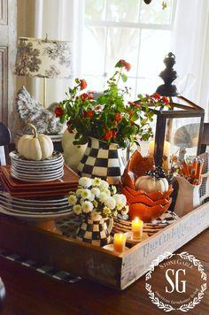 104 Best Kitchen Table Centerpieces Images